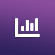 Data driven strategy icon